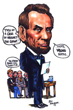 the little known lincoln gettysburg gaffe
