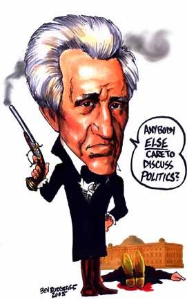 john quincy adams andrew jackson talks politics