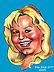 Caricaturist Brigitte Ford