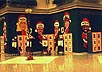 12-foot high Caricature Mural, Tysons Corner Mall