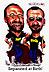 Caricaturist Jan Op De Beeck, and Ringo Starr