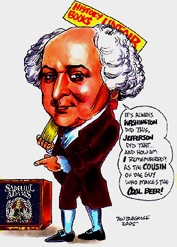 james monroe and john quincy adams English: john quincy adams (july 11, 1767 – february 23, 1848) was the sixth president of the united states from march 4, 1825, to march 4, 1829 he was also an american diplomat and served in both the senate and house of representatives he was a member of the federalist, democratic-republican, national republican, and later anti-masonic and whig parties.