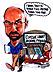 Detroit Caricaturist/NCN Treasurer Robert Bauer