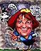 Caricaturist/Past NCN Secretary Teresa Farrington