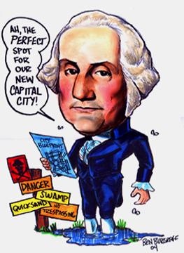Ben Burgraffs Caricature Gallerypage 3 Presidents Gallery