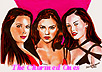 Stars Holly Marie Combs, Alyssa Milano, and Rose McGowan