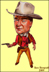 John Wayne in 'The Commancheros'