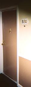 My door...