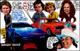 Knight Rider vs The Dukes of Hazzard