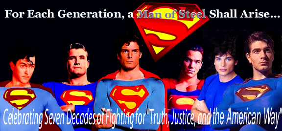 SUPERMANThen And Now TOM WELLING BRANDON ROUTH